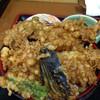 栄 - 料理写真:ミックス天丼。