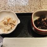 京あかり - 鯛茶のおばん菜 生ゆば刺&ひじき