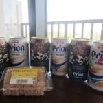 とぅもーるショップ - オリオンビール6本 & じゅーしーおにぎり2個パック