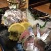 居食処 魚楽 - 料理写真:鯵の生け作り