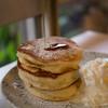 カフェ 坂の下 - 料理写真:プレーンパンケーキ