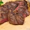 隅田川ブルーイング - 料理写真:<麦酒牛>リブロースステーキ(200g)【2015年5月】