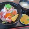 安心食堂 潮彩 - 料理写真:ミニ海鮮丼、ランパス3利用で¥500