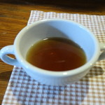 カントリー・キッチン - ランチのスープ、牛のコンソメ