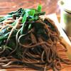 紀山 - 料理写真:ニラそば ¥800  (大盛+¥200)