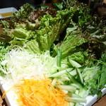 べじとん - 包み野菜盛り