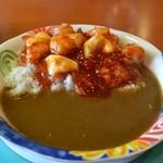 ウインドベル - 料理写真:エビチリ、モッツァレラ カレー