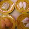 スシロー  - 料理写真:穴子、つぶ貝、サーモン系、鯛