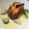 """かえりやま - 料理写真:メインは名物の""""真鯛のパイ包み焼き"""""""