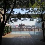 ダバインディア - 丸ビル5階、東京駅展望スポット
