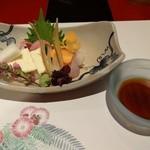 京料理 春神 - 刺身