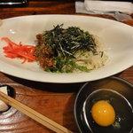 酒処 五郎 - 盛岡じゃじゃ麺風「じゃぁじゃぁ素麺」