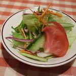 洋食 キムラ - セットのサラダ