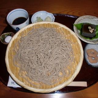 侘助 - 料理写真:十割ざるそば850円