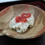 かみその - 料理写真:はも、ぷりぷりでとても美味しい
