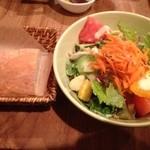 オネストカフェ - サラダセット