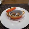 ジュアンレパン - 料理写真:ツブ貝のショーフロワ