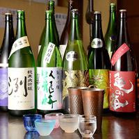 全国各地から店長が自ら厳選した多彩な和酒!