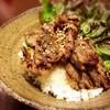 韓国創作料理とうがらし - 料理写真:店長オススメ!牛焼き肉丼