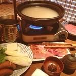 ぷん楽 - 鶏のお鍋