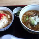 清源坊 - お好みミニセット(ラーメン+カツ丼)