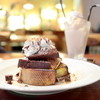cafe 様Sama - 料理写真:フレンチトースト:ロイヤルミルクティー (800円) '15 4月中旬