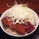 ひだりや - ミニソースカツ丼