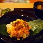 紫野和久傳  茶寮 - ご飯+赤出汁+香の物