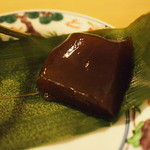 紫野和久傳  茶寮 - れんこん餅