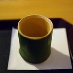 紫野和久傳  茶寮 - 竹酒