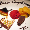 オルティージャ - 料理写真:記念日はメッセージ入りプレートでお祝い♪