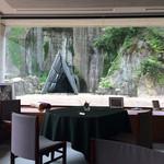 フレンチレストラン Nature - 三角のトンネルとローマの休日!?