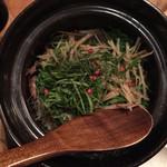 mosh kitchen - ホタルイカの炊き込みご飯。 斬新でかつ炊き具合の絶妙な美味しい一品です。