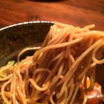 深夜カリー Gorgo - 汁なしカレー麺  麺リフト〜♪