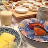 四季の彩 旅篭 - 料理写真:朝ごはんです〜^ ^。右にある鮭はお土産に頂けました。