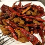38895587 - 若鶏の揚げ物クミン山椒風味