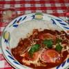 グリーンウェーブ - 料理写真:トマトチキンカレー 980円(6~7月のフェアーメニュ-)