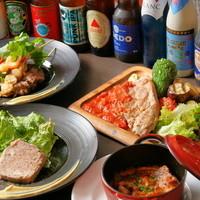 肉とビールの種類が豊富