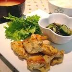 ジミーズパラダイス - 本日の日替り定食 【鶏の香草焼き定食】
