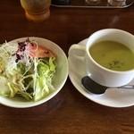 キッチン ポアレ - ランチサラダ・スープ