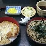 岩月家 - かつ丼セット1026円