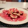 キートス - 料理写真:博多 とよみつひめイチジクとパルマの生ハム☆