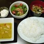 九島屋 - グリーンカレー