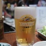 串かつラブリー - ビール