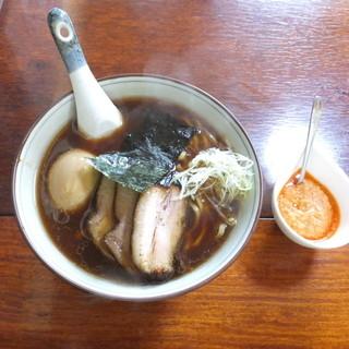 春紀 - 料理写真:たまりじょうゆラーメン+甘エビペースト