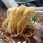 駅前旅館 - 麺アップ
