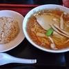 中国飯店東龍 - 料理写真:ミニチャーハン+ラーメンセット 750円