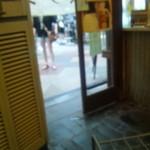 京極スタンド - 店内から入口を