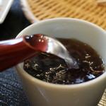 林檎舎 - 蕎麦湯