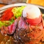 ボルケーノキッチン - ボルケーノ(肉の中に茹で玉子が・・・)